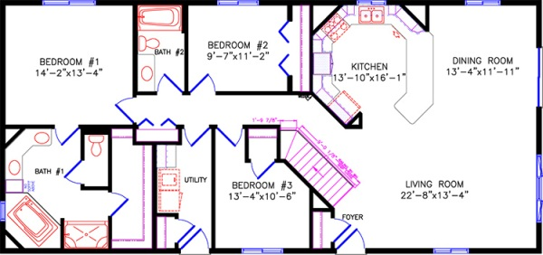 House Plans Ranch 2000 Sq Ft