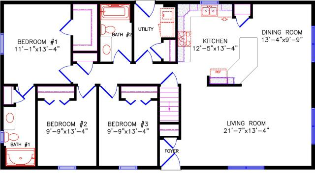 28x48 house plans 28x48 house plans house and home design