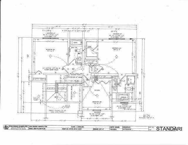 Floor plans cont for Westport homes ranch floor plans